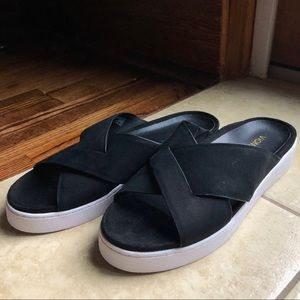 Vionic Sandal with Rubber Sneaker Sole